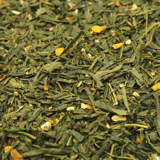 Thé vert au Gingembre Curcuma
