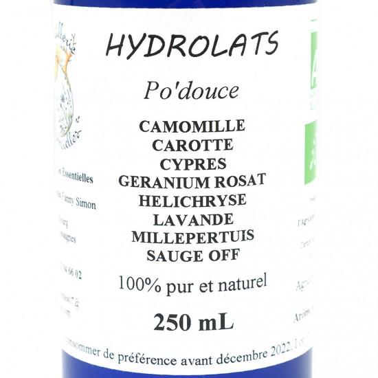 Synergie d'hydrolats Po'douce
